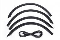 Накладки колесных арок (4шт.пластик) - Volkswagen GOLF 3 (91-97)