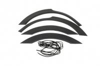 Накладки колесных арок (4шт.пластик) - Renault MASTER (2011+)