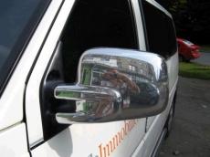Накладки на зеркала (2 шт, пласт) - Volkswagen T4 Transporter