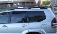 Рейлинги оригинальный дизайн (2 шт) - Toyota LС 120 Prado
