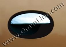 Накладки на ручки (4 шт., нерж.) - Opel Corsa C (2000+)