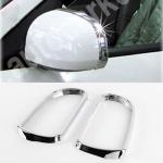 Обводка зеркал хром (2 шт) - Hyundai Sonata NF (2004-2009)