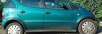 Накладки колесных арок (4шт.пластик) - Mercedes A-KLASS(1997-2004)
