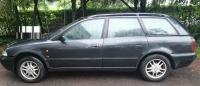 Накладки колесных арок (4шт.пластик) - Audi A4 B5 (1994-2001)