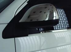 Накладки на зеркала (2 шт,хром) - Volkswagen T5 рестайлинг (2010+)