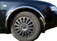 Накладки с нержавейки на колесные арки (4шт.) - Audi A4 B6 (2000-2004)
