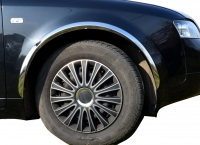 Накладки с нержавейки на колесные арки (4шт.) - Audi 100(1991-1994)