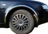 Накладки с нержавейки на колесные арки (4шт.) - Audi A6 C5(1998-2004)
