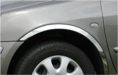 Накладки с нержавейки на колесные арки (4шт.) - Audi A4 B8 4дв. Седан (2012-2015)