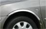 Накладки с нержавейки на колесные арки (4шт.) - Toyota Proace (2017+)