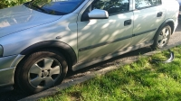 Накладки колесных арок (4шт.пластик) - Opel ASTRA G CLASSIC (1998-2012)