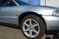 Накладки с нержавейки на колесные арки (4шт.) - Audi A4 (1994-1999)