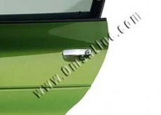 Накладки на ручки (нерж.) - Audi A4 (2004-2007)