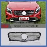 Передняя решетка - Mercedes GLA klass