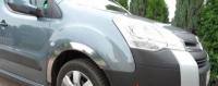Накладки с нержавейки на колесные арки (4шт.) - Fiat DUCATO (2014+)