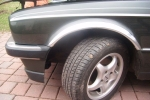 Накладки с нержавейки на колесные арки (4шт.) - BMW 3 СЕРИЯ E-30 (86-94)