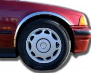 Накладки с нержавейки на колесные арки (4шт.) - BMW 3 СЕРИЯ E-36 (1990-2000)