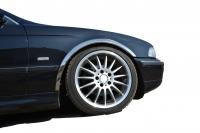 Накладки с нержавейки на колесные арки (4шт.) - BMW 5 СЕРИЯ E-39 (1996-2002)