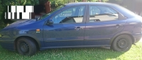 Накладки колесных арок (4шт.пластик) - Fiat BRAVA (95-02)