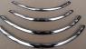 Накладки с нержавейки на колесные арки (4шт.) - Skoda FABIA (2000-2014)