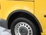 Накладки колесных арок (пластик,к-т) - Volkswagen CADDY (2003-2010)