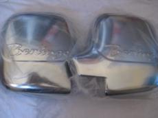 Накладки на зеркала (2 шт., пласт.) -  Berlingo (1996-2008)