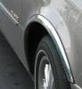Накладки с нержавейки на колесные арки (4шт.) - Renault LAGUNA (1994-2001)