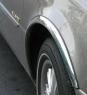 Накладки с нержавейки на колесные арки (4шт.) - Skoda ROOMSTER (2007+)