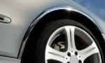 Накладки с нержавейки на колесные арки (4шт.) - Peugeot PARTNER (2003-2008)
