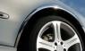 Накладки с нержавейки на колесные арки (4шт.) - Fiat Linea (2006-2012)
