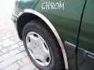 Накладки с нержавейки на колесные арки (4шт.) - Mazda 626 (92-97)