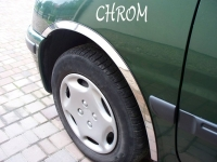 Накладки с нержавейки на колесные арки (4шт.) - Toyota CAMRY(91-96)