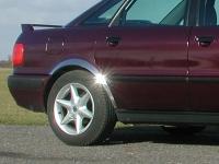 Накладки с нержавейки на колесные арки (4шт.) - Audi 80 B3/B4 86-95
