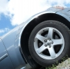 Накладки с нержавейки на колесные арки (4шт.) - Mazda 5 (05-08)