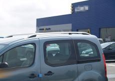 """Рейлинги """"Skyport""""  (серый мат) - Citroen Berlingo (2008+)"""