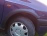 Накладки колесных арок (4шт.пластик) - Renault CLIO (1998-2006)