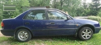 Накладки колесных арок (4шт.пластик) - Toyota COROLLA (1997-2002)