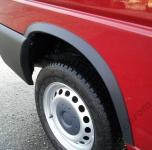 Накладки с нержавейки на колесные арки (4шт.) - Ford TRANSIT (2006-2014)
