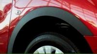 Накладки с нержавейки на колесные арки (4шт.) - Audi A6 C7 (2011-2015) Универсал