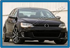 Накладки на зеркала (2 шт, нерж) - Volkswagen Jetta (2011+)