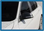 Накладки на зеркала (2 шт, натуральный карбон) - 3 серия F-30 (2012+)