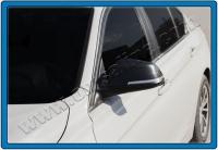 Накладки на зеркала (2 шт, натуральный карбон) - 4 серия F-32 (2012+)