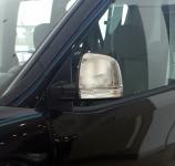 Накладки на зеркала (2 шт, нерж.) - Opel Combo (2012+)