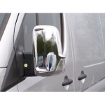 Накладки на зеркала (Carmos, 2 шт, пласт) - Mercedes Sprinter W906