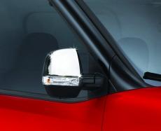 Накладки на зеркала (2 шт, пласт.) - Opel Combo (2012+)