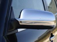 Накладки на зеркала (2 шт, нерж) - Skoda Octavia Tour (A4)