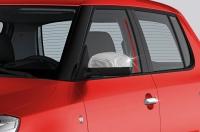 Накладки не зеркала (2 шт, нерж) - Seat Toledo (2012+)