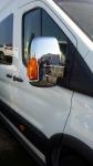 Накладки на зеркала (2 шт) - Ford Transit (2014+)