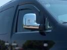 "Накладки на зеркала ""Вариант 1"" (2 шт) - Volkswagen Caddy (2015+)"
