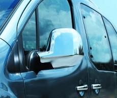 Накладки на зеркала (2 шт., пласт.) - Citroen Berlingo (2008+)